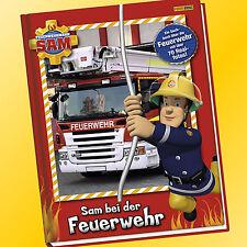 FEUERWEHRMANN SAM bei der Feuerwehr | Sachbuch über die Feuerwehr (Buch)