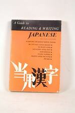A Guide to reading & writing Japanese (revised edition), Editor - Tuttle Paperba