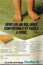Publicité advertising 1979 Le Revetement de Sol Gerflor