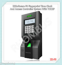 ZKSoftware F8 Fingerprint Time Clock And Access Controller System With TCP/IP