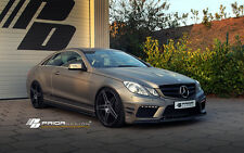 MERCEDES E CLASS COUPE W207 BODY KIT E550 E350 E63 AMG FRONT BUMPER LIP DIFFUSER