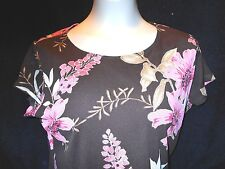 Brittany Black PETITE XL Brown Rose Ladies Bust 42 USA 6% Spandex Good Stretch