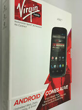 ZTE Awe N800 - 4GB - Black (Virgin Mobile) Smartphone Brand New !Fast Shipping!