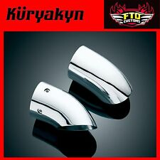 Kuryakyn Chrome Turndown Exhaust Extensions  '01-'16 GL1800 & F6B 7606
