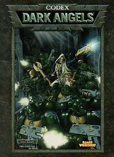Warhammer 40.000 - Codex-Dark Angles-Games Workshop-Muy raros-rareza