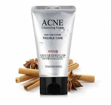 Acne Cleansing Foam 100ml mild bubble skincare natural ingredients TOSOWOONG