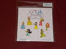 Authentic Disney Parks DISNEY DIVAS Princess Booster 7-Pin Set New
