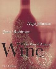 The World Atlas of Wine by Johnson & Robinson (2006, Hardcover Revised 5th Ed.)