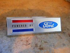 FORD SHELBY COBRA KITS POWERED BY FORD FENDER EMBLEM BADGE S1MS-19525-D NEW OEM