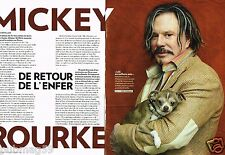 Coupure de Presse Clipping 2008 (4 pages) Mickey Rourke