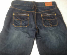New With Tags-RRP $299-Womens' Beautiful SuperDry Orange Denim Label Flare Jeans