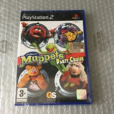 VINTAGE# PS2 PLAYSTATION  MUPPETS PARTY CRUISE SEASE STREET PAL SEALED SIGILLATO