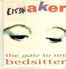 (CP343) Shaker, The Gate To My Bedsitter - 1996 DJ CD