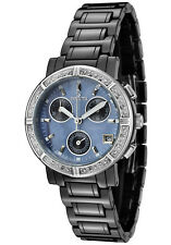 Invicta Women's 0728 Ceramics Diamond MOP Chronograph 33mm Black Watch