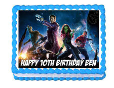 Guardians of the Galaxy Party Edible image Cake topper decoration frosting sheet