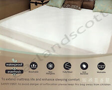 Single Size Mattress Protector Sheet Wet Matress Cover Waterproof Washable Gift