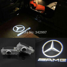 2x Ghost LED Door Step Courtesy Shadow Laser Light For Mercedes CLS CLA C207 AMG
