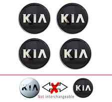 Kia wheel  Center Hub caps black , Sportage Optima, Rio, Soul 52960-3W200 4PCS