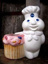 VINTAGE PILLSBURY DOUGH BOY PLANTER POT HOME & GARDEN IN/OUTDOOR VASE VESSEL