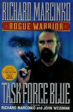 Rogue Warrior Task Force Blue by Richard Marcinko (1996 Hardcover First Edition)