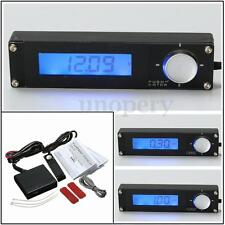 Universal Car Turbo Timer Voltage Blue LCD Digital Type 0 For HKS 41001-AK009