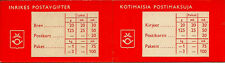 FINLAND BOOKLET : 1959 Booklet containing Lion stamps SG SB4S mint