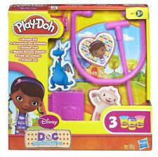 Play-Doh PlayDoh Doc McStuffins Doctor Kit Toy Includes 3 x Play-Doh Pots