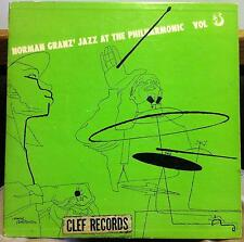 "NORMAN GRANZ jazz at the philharmonic Vol 5 VG- MG-VOL. 5 Clef 10"" DSM 1951"