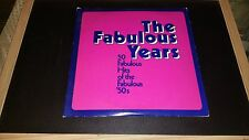 THE FABULOUS YEARS 50 FABULOUS HITS OF THE FABULOUS 50'S 2xLP Columbia House
