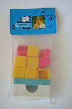 2 x Original DDR PEBE Bausteine für Kleinkinder 11 teilig