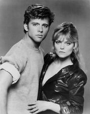 Michelle Pfeiffer and Maxwell Caulfield UNSIGNED photo - H4875 - Grease 2