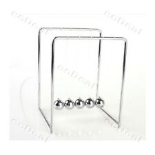 1 pc New Newton's Cradle Balance Balls Physics Classic Science Mini Fun Desk Toy