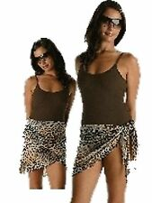 KULU SWIMWEAR SARONG COVER UP ANIMAL PRINT S / M (8USG)