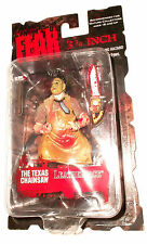 "Mezco Cinema of Fear LEATHERFACE Texas Chainsaw figure Horror 10 cm 3,75"" 1:18"