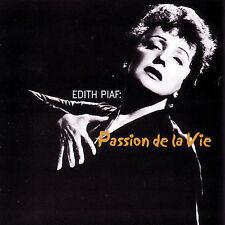 Edith Piaf: Passion de la Vie  MUSIC CD
