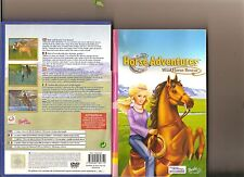 BARBIE HORSE ADVENTURES WILD HORSE RESCUE PLAYSTATION 2 PS2 PS 2 KIDS