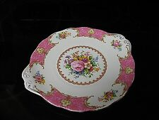 "ROYAL ALBERT ""LADY CARLYLE"" CAKE/SANDWICH PLATE"