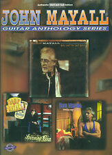 "JOHN MAYALL ""GUITAR ANTHOLOGY SERIES"" GUITAR-TAB/VOCAL MUSIC BOOK BRAND NEW SALE"
