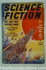 Science Fiction Aug 1939 Frank Paul Cover, Edmond Hamilton Story