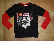 Lego Star Wars Youth Shirt Long Sleeve Black Red Size XL X-Large KIDS