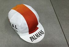 CASQUETTE BLANCHE VELO CYCLISME PALMANS IDEAL THE CARPET CHAMPION TRES RARE