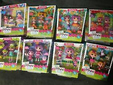 Lalaloopsy Sisters Mini (8) lot..Jewel/Pillow/Peanut/PixE./Rosy/Sahara/Spot/Mis.