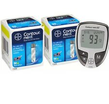 Contour Next Test Strips 100 Count Plus Contour Next EZ Meter (2x50) EXP:2/2018