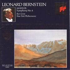 Leonard Bernstein Grist New York Phil Mahler symphony no.4 The Royal Edition CD