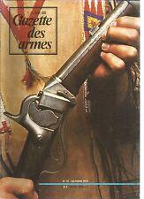 GAZETTE DES ARMES N°31 CARABINES SHARPS / VELOCIPEDE MILITAIRE / BOURGUIGNOTTES