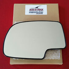 NEW MIRROR GLASS SILVERADO SIERRA YUKON TAHOE DRIVER SIDE POWER WITH BACKING