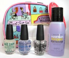 OPI SMALL WONDERS MINI SET~Nail Envy RapiDry Top Chip Skip Polish Remover Wraps