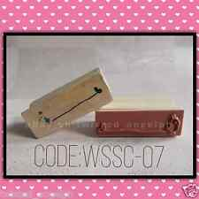 Stamp/Wooden Stamp/Wood Mounted Rubber Stamp [Code: WSSC-07]