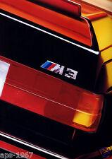 BMW E30 M3 1989 DTM BMW M- Motorsport Art Promo large poster