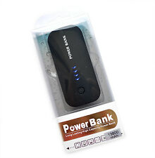 POWER BANK CARICA BATTERIA USB 13800 MAh UNIVERSALE SMARTPHONE TABLET LUCE LED